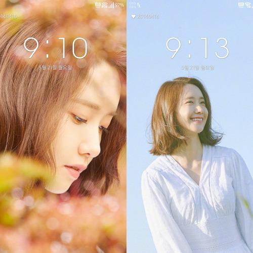 소녀시대 윤아 너에게 티저 폰 배경화면 & 잠금화면 27장