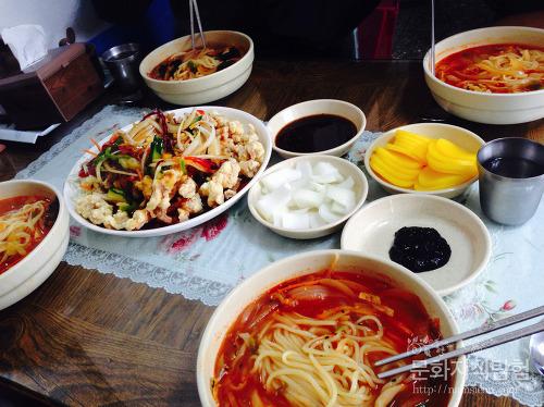 안동 태화동 맛집 산마루 탕수육과 4짬뽕