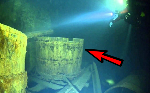 베일에 휩싸인 수중 UFO의 놀라운 정체
