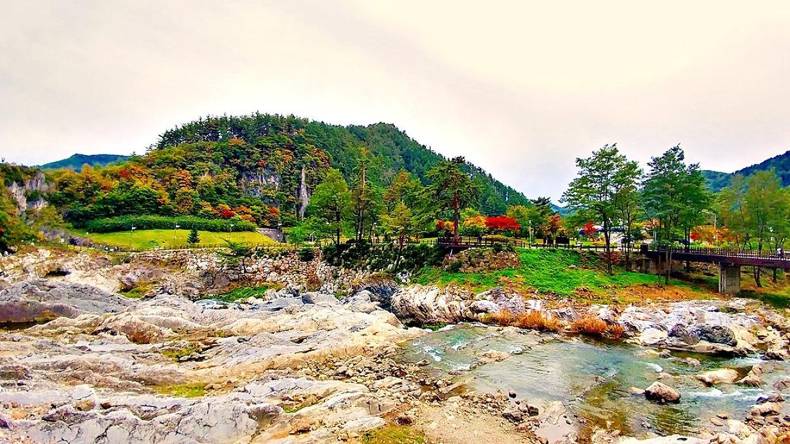 가을 단풍여행/자연의 신비함을 간직한 태백 구문소