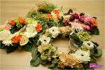 [Imitation Wreath] 봄꽃으로 집안을 화사하게....