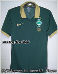 09/10 SV Werder Bremen 111 Jahre S/S Player Issue (SOLD OUT)