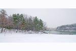 눈 오는 날 - 창원 용지못...
