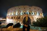 로마의 야경과  카라바지오