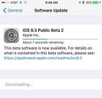 iOS 9.3 퍼블릭 베타2 배포 및 업데이트 방법