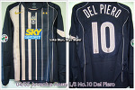 04/05 Juventus Away L/S No.10 Del Piero - Player Issued (SOLD OUT)