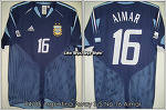 04/06 Argentina Away S/S No.16 Aimar 2005 Germany Confederations Cup Ver.