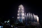 123층 555m, 롯데월드타워 불꽃쇼