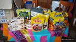 스페인 고산에 손님이 남기고 간 한국 식품