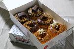 크리스피 크림 도넛 신메뉴 너티 코코아링, 로아커 도넛, 로투스 비스코프 도넛, 로투스 비스코프 라떼