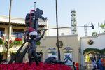LA, 유니버설 스튜디오의 크리스마스.