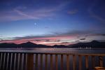잊을 수 없는 새벽, 베다나 리조트의 하늘