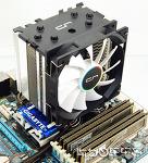 [포르까 리뷰]CRYORIG H7 포함 타워형(U Type) CPU cooler 73종 쿨링 성능 비교