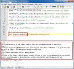SciTE4AutoHotkey 의 아웃풋에 텍스트 표시 방법