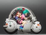 megahouse dragon ball z real mccoy desktop son goku & bulma / 리얼맥코이 손오공 & 부르마