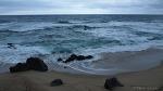 7번국도 여행 - 비가 내리는 동해바다, 일렁이는 거친 파도