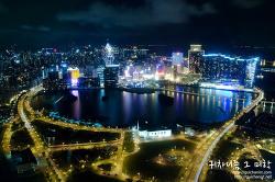 ▩마카오 여행기▩ 밤의 도시 마카오의 야경을 한 눈 담다. 마카오 타워
