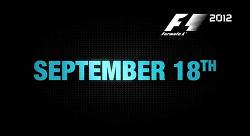 F1 2012 게임 9월 18일 출시 예정