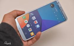LG G6 화면 캡처 스크롤 캡처하기