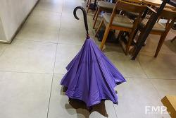 '비올때 중헌 것은 우산인디', 효율성 좋은 '레그넷' 우산