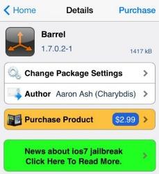 """아이폰 홈화면을 자유자제로 """"Barrel"""""""