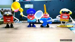 2016년 4월 맥도날드 해피밀 해피 1차 4종 세트 (McDonald's Happy Meal Toy Corea)