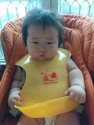 2015년 6월, 7개월 아기 찌찌