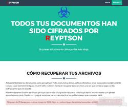 스페인을 노리는 랜섬웨어-Reyptson Ransomware(Reyptson 랜섬웨어)증상 및 예방