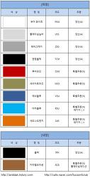 [올뉴투싼색상표] 투싼TL색상표 공개