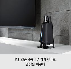 KT 인공지능 TV 기가지니로 일상을 바꾸다