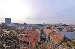 크로아티아 여행 자그레브 전망대 그리고 세상에서 가장 짧은 케이블카