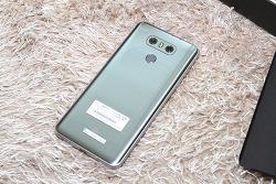 LG G6 아이스 플래티넘 색상 개봉기