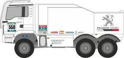 Peugeot Sport Dakar 2016 MAN Truck