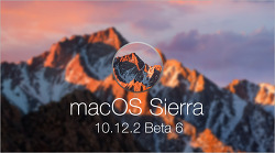 애플, macOS 시에라 10.12.2 여섯 번째 베타 버전 공개… 정식 배포 임박?