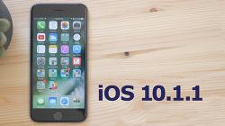 iOS 10.1.1 정식 버전 재배포 및 업데이트 방법