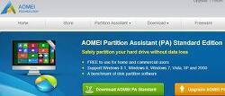 AOMEI Partition Assistant Standard Edition/ HDD->SSD 시스템 복사(마이그레이션), 디스크 파티션 유틸리티