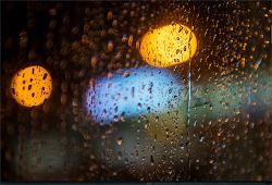 비, 빗방울...