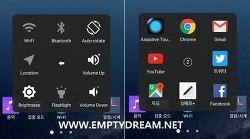 iOS 10, assistive touch 기능을 안드로이드 폰에서 사용하기