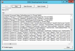 [RAD서버] EMS 서버 운영환경에 설치하기(독립형 실행파일)