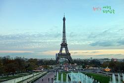 프랑스 여행〃전 세계 로맨틱의 중심. 에펠탑 야경