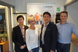 히어링루프, 스웨덴 유니복스(Univox)사 보청기 전문 웨이브히어링과 국내 독점공급계약 체결