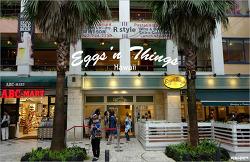 [후쿠오카 브런치] 후쿠오카에서 만나는 하와이, 에그앤띵스(Eggs'n Things)