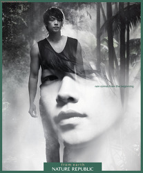 K-POP Star 비(Rain) 네이처 리퍼블릭 지면광고