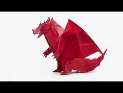 악마 드래곤 종이접기