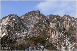 겨울 운악산