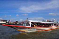 [프렌즈 방콕 업데이트] 짜오프라야 강 수상 보트 N8번 선착장