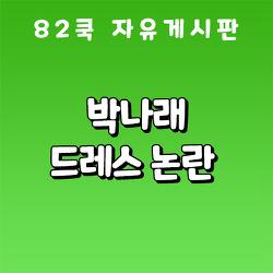 박나래 드레스 논란 : 82쿡 자유게시판 레전드 오지랖 썰