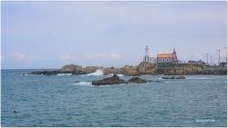 동해안 명소 탐방 죽성등대와 죽성교회