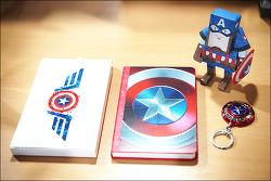 캡틴 아메리카 75주년 마블 (MARVEL) 노트