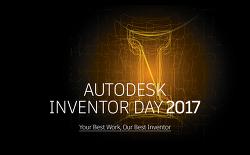 Autodesk Inventor Day 2017에 여러분을 초대합니다.